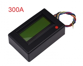 300A Digital Display Ammeter Voltmeter Power Meter Clock Reverse Connection Protection