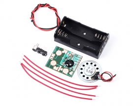 Voice Recording Kits 6S Sound Playback DIY Kits 3-4.5V DIY Recorders