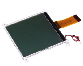 160160A LCD Display Module Black Character Grey Screen 160x160 3.3V with Location Hole