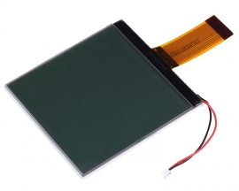 160160A 3.3V LCD Display Module Black Character Grey Screen 160x160