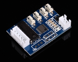 Stepping Motor Drive Controller Board Key Control Module 5-12V 0.1-500mA for 24/28BYJ48 Motors