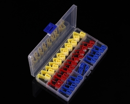 36pcs T-Tap Quick Splice Electrical Wire Connector Terminal Assortment Kit Red Blue Yellow