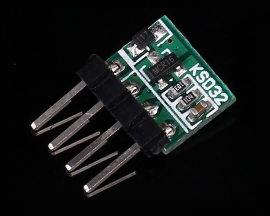 KSD32 Single Key Switch Self-Locking Module High Level Trigger DC 3-60V 350mA