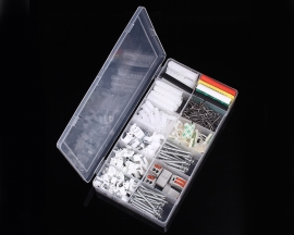 317pcs IT320 Connection Terminal Kit Set Cable Holder Expansion Tube Screws Heat Shrink Tube Tools Kit