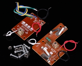 27Hz 4-Channel Wireless Transmitter + Receiver Board Module for DIY Remote Control Cars