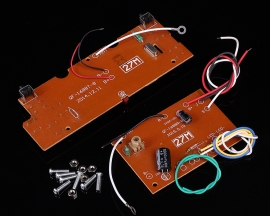6-Channel Wireless Transmitter + Receiver Board Transceiver 27Hz for DIY Remote Control Toys