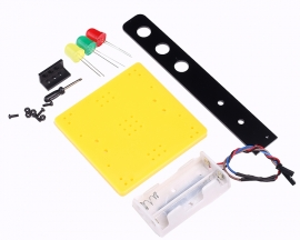 Traffic Lights DIY Kits Technology Production Invention Signals Traffic Lights DIY Science Model Kit 75x75x165mm