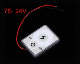 7S 24V Lithium Battery Capacity Indicator LED Display Touch Battery Power Tester Li-po Li-ion 30mA