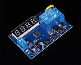 Digital LED Display Time Delay Relay Module Control Programmable Timer Switch Board