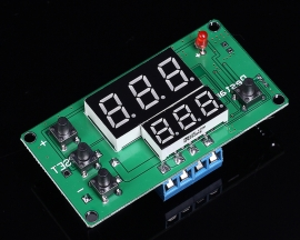 Cycle Timing Delay Relay Module Red Blue Display Multifunction Board Module DC 24V