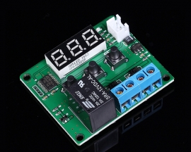 Blue Digital Thermostat Temperature Control Thermometer Thermo Controller Switch Module 12V