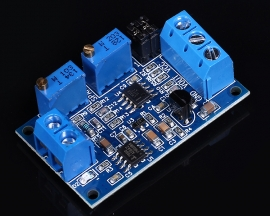 Current to Voltage Converter Module Amp to Volt Transmitter 4-20mA to 0-3.3V/5V/10V Signal Conversion Board Module