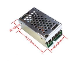 DC to DC Step Down Buck Converter Adjustable Power Supply Module Board DC 24V/12V to DC 5V 5A