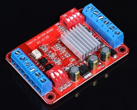 Stepper Motor Driver Board Dual Bridge MOSFET Driving Controller Module for Arduino/Smart Car