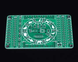SMT SMD Electronic Component Soldering Practice Board PCB DIY Kit Module Electric Production DC 4.5-5V