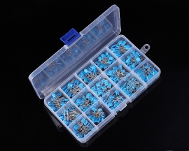 300PCS 15 Values 1KV/2KV/3KV High Voltage Ceramic Capacitor Assorted Kit Assortment Set