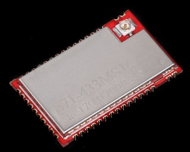 433MHz CC1310 RFID Wireless Transceiver Module ARM SOC Interface 14dBm DC 2.2-3.8V 1000m