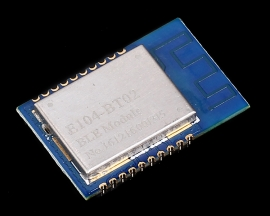 2.4GHz DA14580 Wireless Bluetooth Module BLE 4.1 UART Transparent Transmission Board DC 2.35-3.3V 3uA 100m