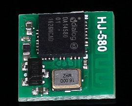 HJ-580CY DA14580 Wireless BLE Transparent Transmission Module DC 2.5-6V Compatible with CYBLE-022001-00