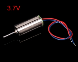 3.7V 6x12mm 612 Micro Coreless High Speed Motor Shaft Length 4mm for Airplane Model