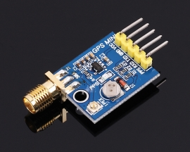 GPS GLONASS Beidou Three Mode Operation M8N Module IPEX SMA Interface 3.3V 5V