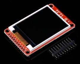 "1.8"" 1.8 Inch TFT LCD Screen ST7735 128x160 Support Micro SD Card 3.3V 5V for Arduino"