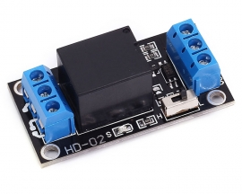 3.3V 1 Channel Relay Module High Low Level Adjustable Trigger Board for Arduino
