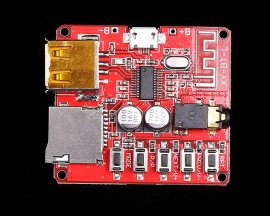 Wireless Bluetooth BLE 4.1 MP3 Decoder Board TF Card Micro USB Lossless Decoding Stereo Audio Player Module for Car Amplifier