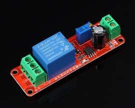 NE555 Delay Relay Module DC 12V Timer Switch 1-10s Adjustable Relay Module