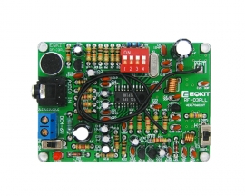 DC 4-6V DIY FM Stereo Transmitter Module Wireless Microphone FM Frequency Modulation MP3 Transponder DIY Kits Module