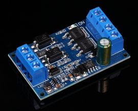 Dual MOS Tube DC 4-60V Trigger Switch Driver Module PWM Controller Adjustment Switch Control Board 600W High Power for DC Motor LED Light