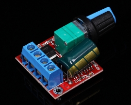 4.5-35V 90W PWM DC Motor Speed Control Regulator Module 5A Switch Controller Regulator LED Dimmer Board 20KHz