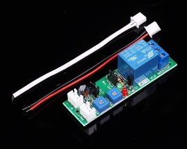 DC 12V 0-100s Adjustable Limitless Cycle Delay Relay Module ON OFF 10A 70x20x18mm