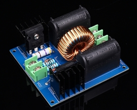 ZVS Induction Heating Driver Board High Voltage Generator Circuit PCB DC 12-30V 30-50KHz