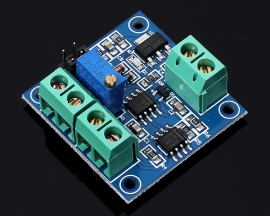 0-5V/0-10V to 0-100% Voltage to PWM Converter Board Duty Cycle Adjustable Conversion Module