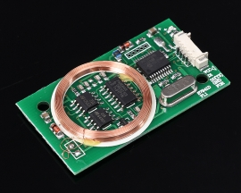 Dual Frequency WG26 RFID Reader Wireless Module 13.56MHz 125KHz for IC/ID/Mifare Card