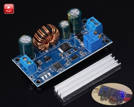 Adjustable Automatic Step Up/ Step Down Power Supply Module Constant Current Buck Boost Converter DC 5-30V to DC 0.5-30V