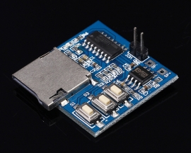 DC 3.7V-5V MP3 Decoder Decoding Board Module Memory Play with TF Memory Card Socket Mono 2W