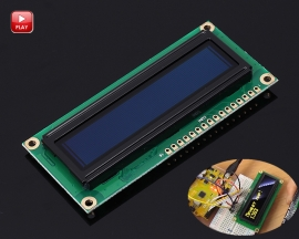 Yellow OLED Display Screen 1602 DC 3.3V-5V 16x2 Display Module for Arduino