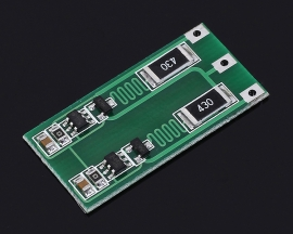 Lithium Battery Balancing Balance Board Module Equalization Charger Board Module for 2pcs Lithium Battery 8.4V