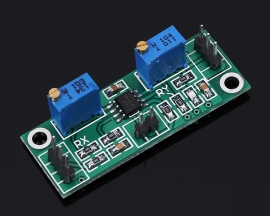 AD8572 Microvolt Voltage DC Signal Operational Amplifier Module 1-2000 Gain Adjustable Level DC 3V-5V