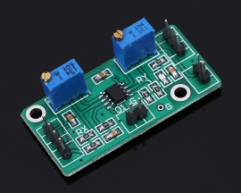 LM358 AC Signal Double Power Operational Amplifier Module 1-2000 Gain Adjustable Level +/-2V-14V