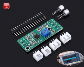 AC Signal Amplifier Operational Amplifier DC 3V-12V Adjustable 1-100 Gain Low Signal Amplifier Module