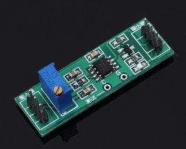 DC 3-5V Voltage Single Attenuation Module Impedance Transformation Single Power Supply Operational Amplifier Module