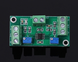 AD8572 DC Signal Voltage Amplifier Two-stages Operational Amplifier 20x100 Gain DC 3V-5.5V