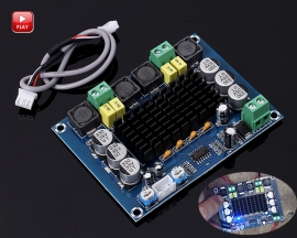 XH-M543 Dual Channel 2x120W TPA3116D2 Class D Digital Power Amplifier Board Audio Amplifier Module