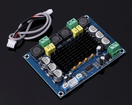 XH-M543 Dual Channel 2x120W TPA3116D2 Digital Power Amplifier Board Audio Amplifier Module