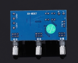 XH-M567 TPA3116D2 Class D Dual Channel 80W Digital Power Amplifier Board Audio Amplifier Module