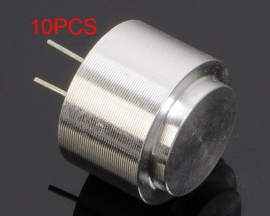 10PCS Waterproof Ultrasonic Sensor Diameter 16mm 40KHz Transmit-Receive Integration