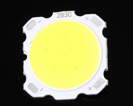 10pcs 3W Pure White COB High Power LED Roundness LED Light Emitting Diode